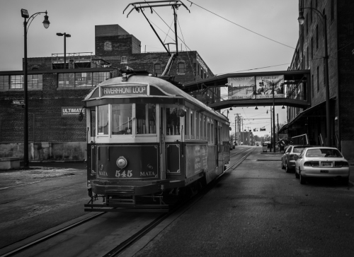 Day 329 Trolly bw